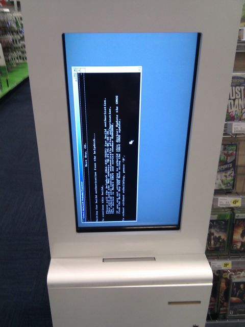 [Snapshot: Best Buy: we can't even run kiosks right]