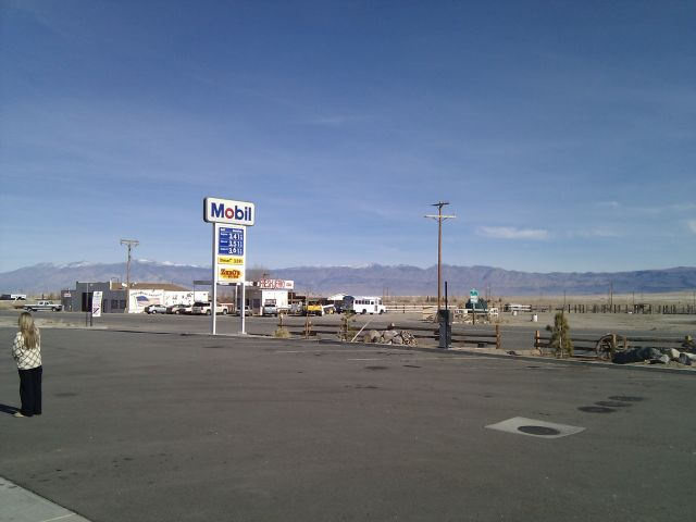 [Snapshot: Olancha, US 395 to CA 190]