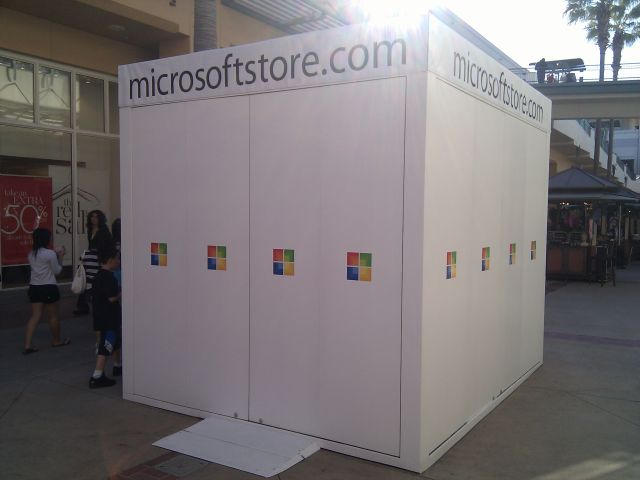 [Snapshot: the Microsoft Store: no windows]