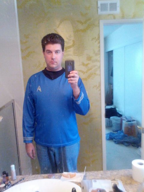 [Snapshot: Spock part 1: the shirt]
