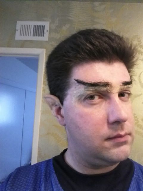 [Snapshot: Spock part 5: browline]