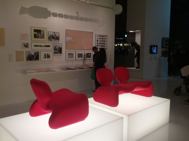 [Snapshot: I loved these sofas in 2001. #lacma]