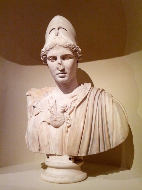 [Snapshot: is this some kind of bust? Very impressive, yes. #lacma]