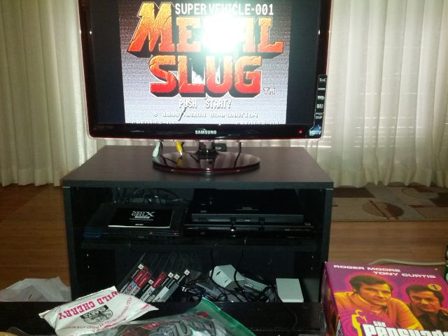 [Snapshot: Metal Slug in the house!]