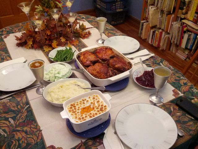 [Snapshot: Thanksgiving for three, 2013]