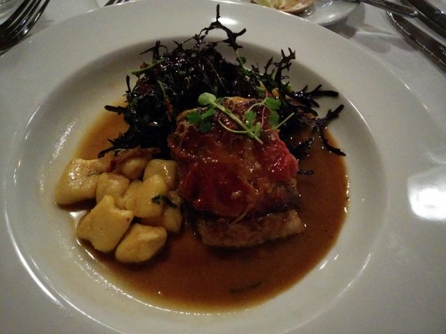 [Snapshot: Mulvaney's: braised veal and gnocchi]