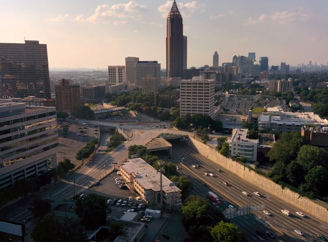 [Snapshot: downtown Atlanta]
