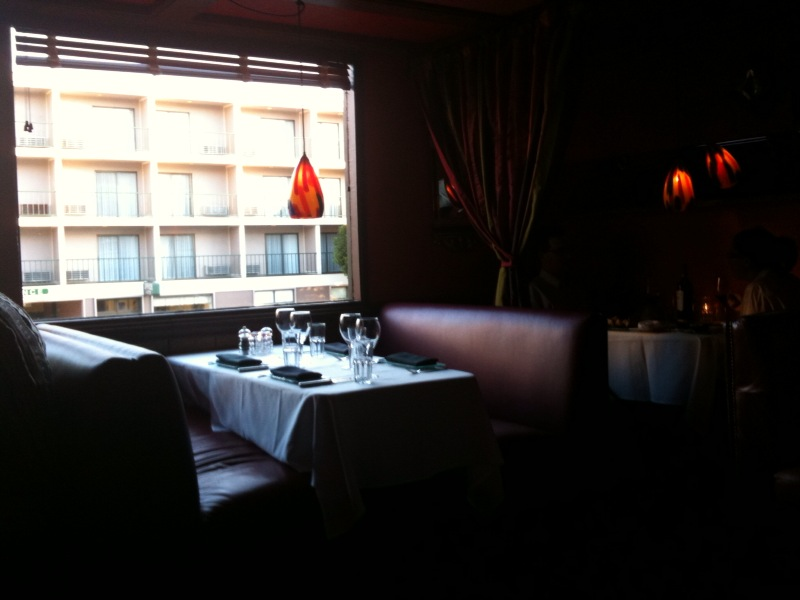 [Snapshot: a quiet Wednesday in Boboquivari's]